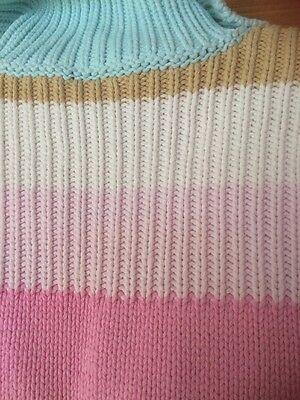 GAP Girls Knitted Stripe Coatigan Age 10-11 Yrs VGC 5