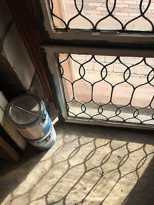 Sg 653 Two Available Price To Each Antique Leaded Glass Curly Cue Design Windows 5