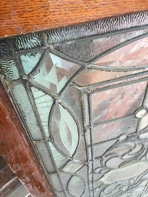 "Sg 749 Antique Transom Window 22"" X 42.25"" Beautiful 11"