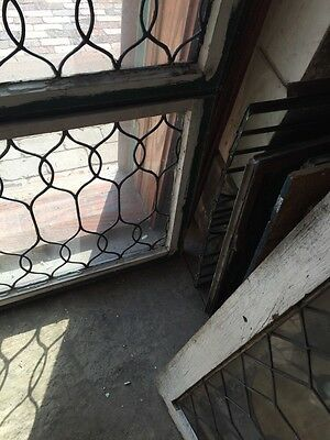 Sg 653 Two Available Price To Each Antique Leaded Glass Curly Cue Design Windows 7