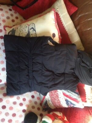 Hollister  Body Warmer Xs Blue Really Warm 4