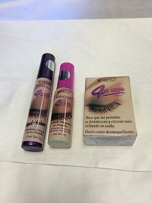 49650f76b25 ... Prosa Mascara 3 Combo ,1 Oil For Enlarging Eyelashes, & 2 Rimel Aceite  De