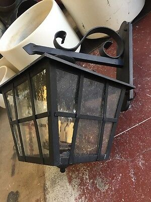 Spanish Revival Reproduction Exterior Side Mount Wall Sconce Garden Lights 3