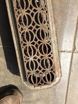 Rt 14 Antique Decorative Cast-Iron Radiator Cover 4