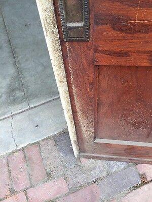 R D One Antique Oak 2 Panel Single Pocket Door 4