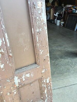 D 204 Antique Arch Top Galvanize Steel Entrance Door 4