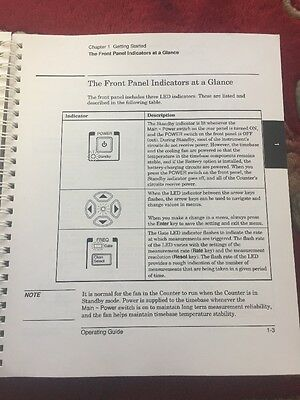 HP 53150A 151A 152A Microwave Frequency Counter Operating Guide 6
