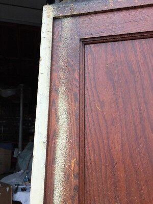 R D One Antique Oak 2 Panel Single Pocket Door