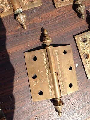 "Sw3 4 Matching 3 Inchx 3"" Decorative Bronze Hinges"