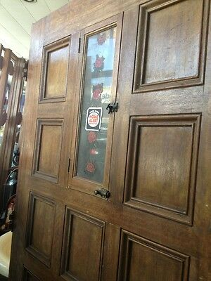 "Spanish Hewn Wood Front Door 77""x40 3"