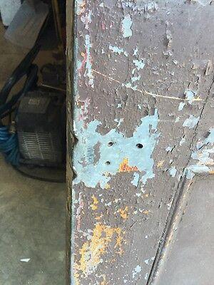 D206 Metal Galvanized Arch Top Door Antique 2