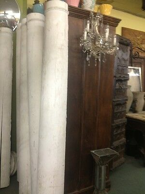 Old Antique Vintage Post Wood Columns