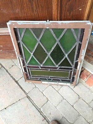 Sg 327 Two Matching Antique Fluer De Lis Windows In Cast-Iron Frames 6