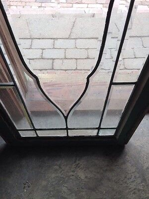 Sg 181 All Beveled Glass Transom Window 22.5 X 62 And Three-Quarter 4