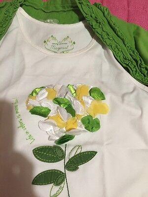 Mayoral Benetton T-shirt Coprispalle E Pantalone Bambina Bimba 9 Anni 6