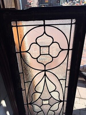 Sg 578 Antique Victorian Style Transom Glass Window 2