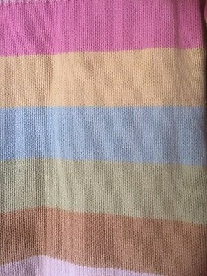 GAP Girls Knitted Stripe Coatigan Age 10-11 Yrs VGC 6