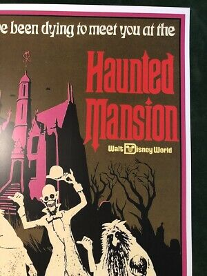 Disney World Haunted Mansion - Collector Poster 4 Different Sizes  (B2G1 Free!!) 4