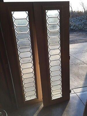 Bg 2 2 Available All Beveled Glass Transom Windows Geometric Antique 8
