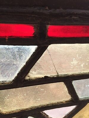 Sg 813 Two Available Priced Separate Antique Stainglass Transom Window 5