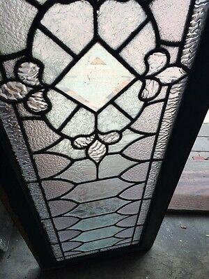 Sg 739 Antique Transom Window With Double Glass Center 4