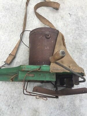 Vintage 3 Gear Hand Crank Seed Sower/Spreader Farm Tool Unique Piece!