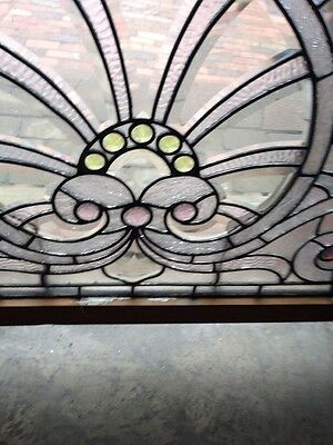 Sg 207 Absolutely Incredible 1880S Beveled Glass Window 6
