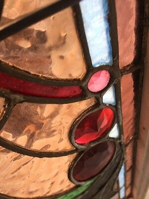 An #2 Amazing Antique Combo Window Victorian Stain Jeweled Beveled Keeper 7