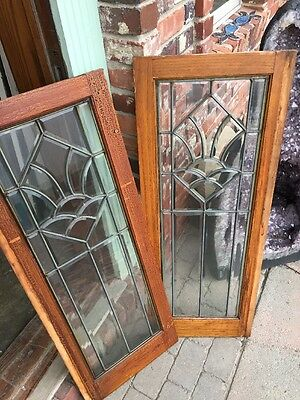 Sg 8934 Available Priced Each Antique All Beveled Glass Windows