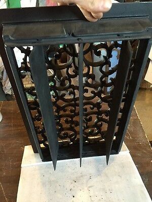 Antique Heating Grate Oversize Unique Size Tc 70