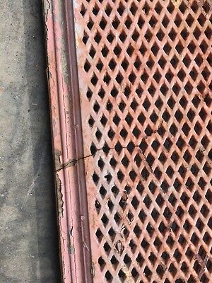 "Rt 5 2 Available Priced Each Antique Cast-Iron Radiator Cover 61"" X 10"" 8"