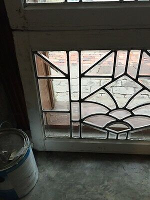 Sg 843 Two Available Price Separate Antique Beveled Glass Window 5