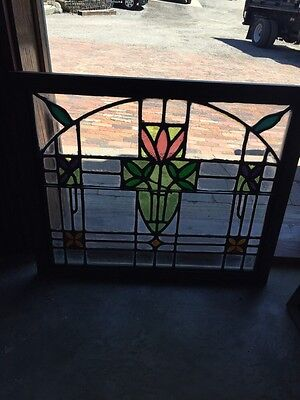 Sg 782 Four Available Price Separate Antique Stainglass Windows 6