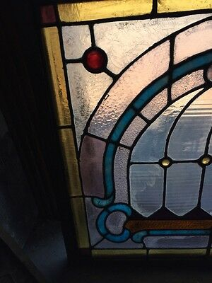 Sg 784 Antique Pastel Window With Round Jewels