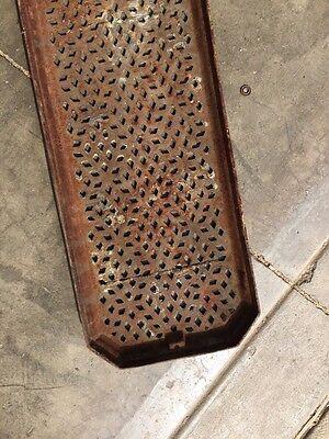 "Rt 10 Antique Cast-Iron Radiator Cover 25"" X 8 Half-Inch 6"