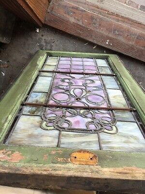 Sg 808 Antique Ribbon And Jewel Landing Window 7