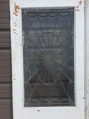 Ad 3 1 Pair Antique Double Door Leaded Glass Passage Set 2