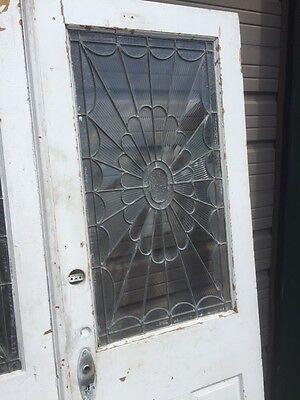 Ad 3 1 Pair Antique Double Door Leaded Glass Passage Set 3