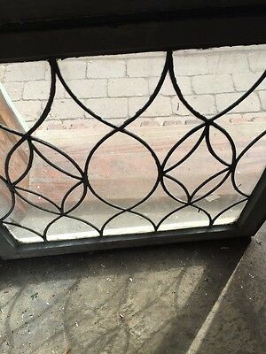 Sg 657 Antique Leaded Glass Window Two Available Priced Each 6
