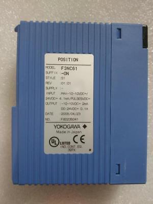 1PC  used Yokogawa   F3NC61-0N