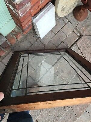 Sg 645 Two Available Price Separate Four Corner Belval Leaded Glass Windows 9