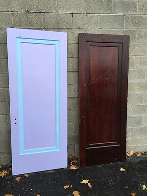 Neo 5 Two Available Antique Birch Passage Doors 4