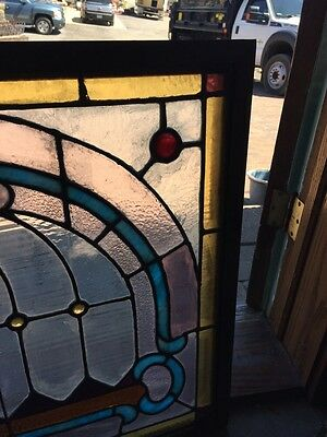 Sg 784 Antique Pastel Window With Round Jewels 4