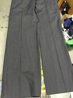 Ted Baker Endurance Navy Pinstripe Wool Suit Jacket 40R Pants 34R 10