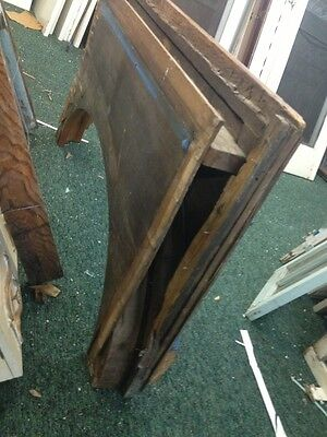 Arched Wood Doorway Insert With Bronze Detail 8