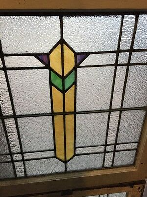Sg 683 Two Available Price Separate Art Deco Window