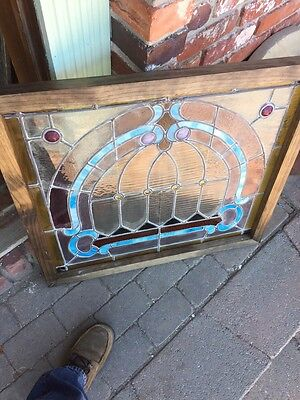 Sg 784 Antique Pastel Window With Round Jewels 8