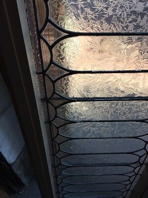 Sg 907 Antique Textured Glass Transom Window 4