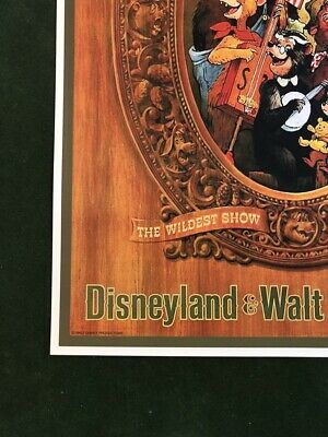 COLLECTOR POSTER 4 DIFFERENT SIZES DISNEY/'S HALL OF PRESIDENTS B2G1 FREE!!