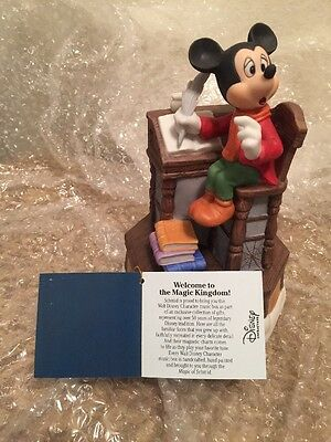 5 of 12 rare disney schmid mickey mouse a christmas carol music box ceramic porcelain - Mickey Mouse A Christmas Carol